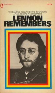 Front Cover : Lennon remembers