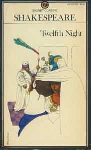 Cubierta de la obra : Twelfth night, or, What you will
