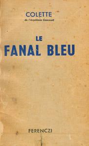 Cubierta de la obra : Le fanal bleu