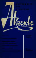 Ver ficha de la obra: Akzente