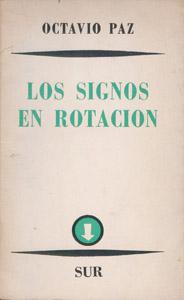 Cubierta de la obra : Los signos en rotación