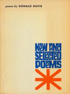 Cubierta de la obra : New & selected poems