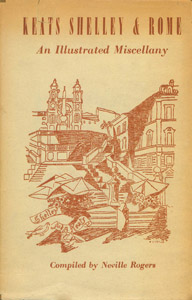 Front Cover : Keats, Shelley & Rome