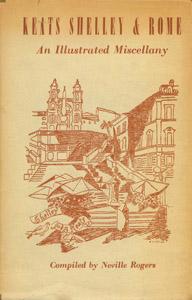 Cubierta de la obra : Keats, Shelley & Rome