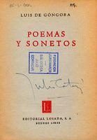 Ver ficha de la obra: Poemas y sonetos