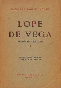 Cubierta de la obra : Poesías líricas