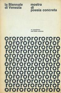 Cubierta de la obra : Poesía concreta