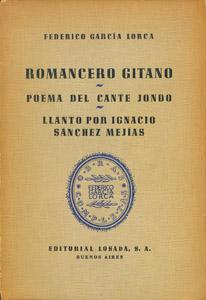 Work Details Romancero Gitano Poema Del Cante Jondo
