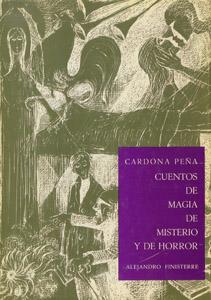 Cubierta de la obra : Cuentos de magia, de misterio y de horror