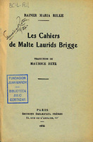 See work details: cahiers de Malte Laurids Brigge