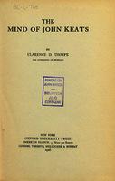 Ver ficha de la obra: mind of John Keats