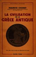 Ver ficha de la obra: civilisation de la Grèce antique