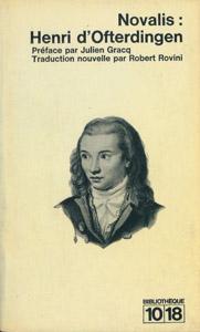 Cubierta de la obra : Henri d'Ofterdingen