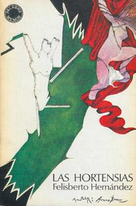 Cubierta de la obra : Las hortensias