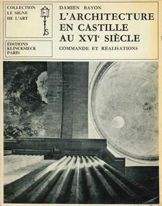 Front Cover : L' architecture en Castille au XVIe siècle
