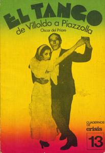 Front Cover : El tango de Villoldo a Piazzolla