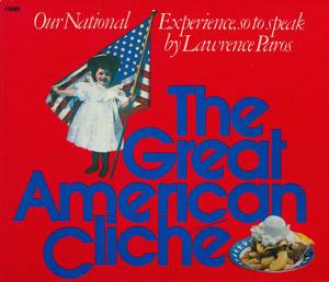 Cubierta de la obra : The great American cliché