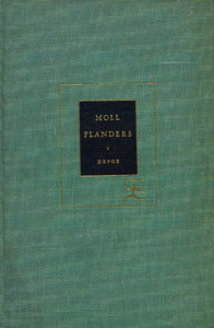 Front Cover : The fortunes and misfortunes of the famous Moll Flanders, &c