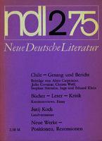Ver ficha de la obra: Neue Deutsche Literatur