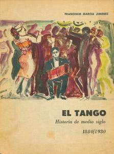 Cubierta de la obra : El tango