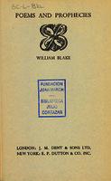 Ver ficha de la obra: Poems and prophecies
