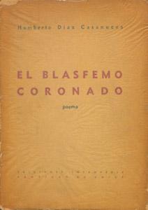 Cubierta de la obra : El blasfemo coronado