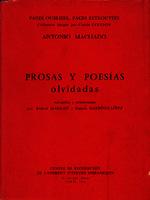 Ver ficha de la obra: Prosas y poesías olvidadas