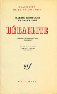 Cubierta de la obra : Héraclite