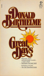 Front Cover : Great days