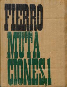 Front Cover : Mutaciones, 1