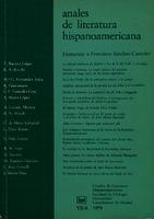 Ver ficha de la obra: Anales de Literatura Hispanoamericana