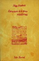 Ver ficha de la obra: estructura de la lírica moderna