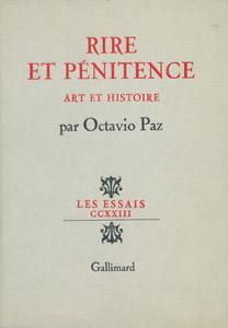 Front Cover : Rire et pénitence