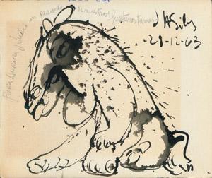 Front Cover : [Álbum de dibujos de Julio Silva, 1963]