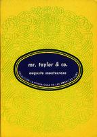 Ver ficha de la obra: Mr. Taylor & co