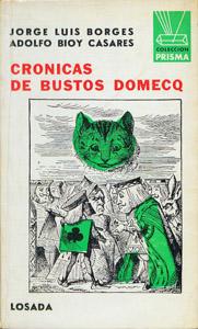 Front Cover : Crónicas de Bustos Domecq