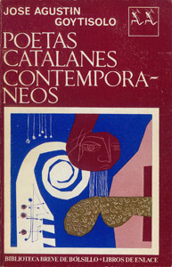 Front Cover : Poetas catalanes contemporáneos