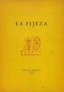 Front Cover : La fijeza