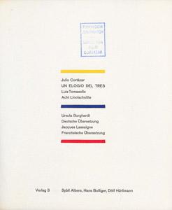 Cubierta de la obra : Un elogio del tres