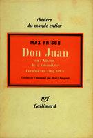 Ver ficha de la obra: Don Juan ou L'amour de la Géométrie