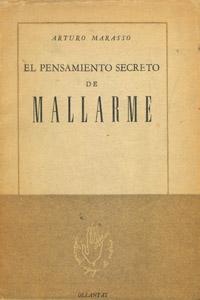 Cubierta de la obra : El pensamiento secreto de Mallarmé