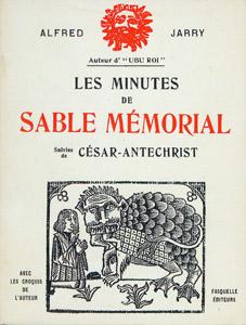 Cubierta de la obra : Les minutes de Sable mémorial ; suivies de César-Antéchrist