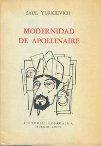 Cubierta de la obra : Modernidad de Apollinaire