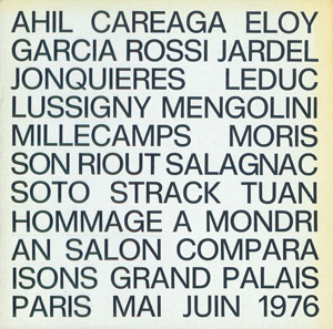 Cubierta de la obra : Hommage a Mondrian