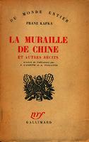 Ver ficha de la obra: muraille de Chine et autres récits