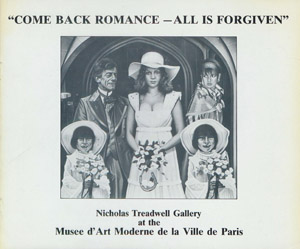 "Cubierta de la obra : ""Come back romance-all is forgiven"""