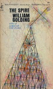 Cubierta de la obra : The spire