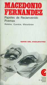 Front Cover : Papeles de Reciénvenido, poemas, relatos, cuentos, miscelánea