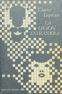 Cubierta de la obra : La legión extranjera