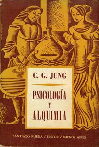 Cubierta de la obra : Psicología y alquimia